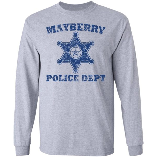 Mayberry police dept shirt 5