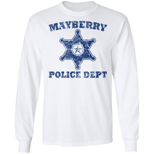 Mayberry police dept shirt 6