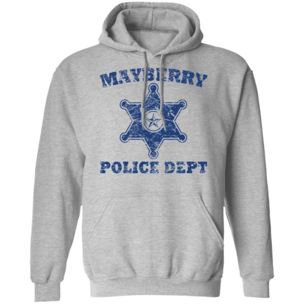 Mayberry police dept shirt 7