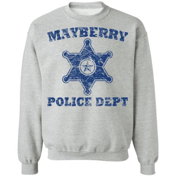 Mayberry police dept shirt 1