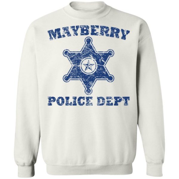 Mayberry police dept shirt 10