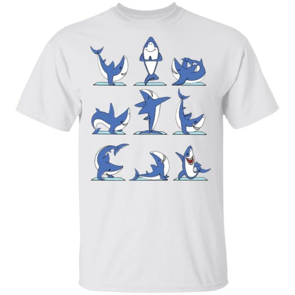 Shark Yoga shirt
