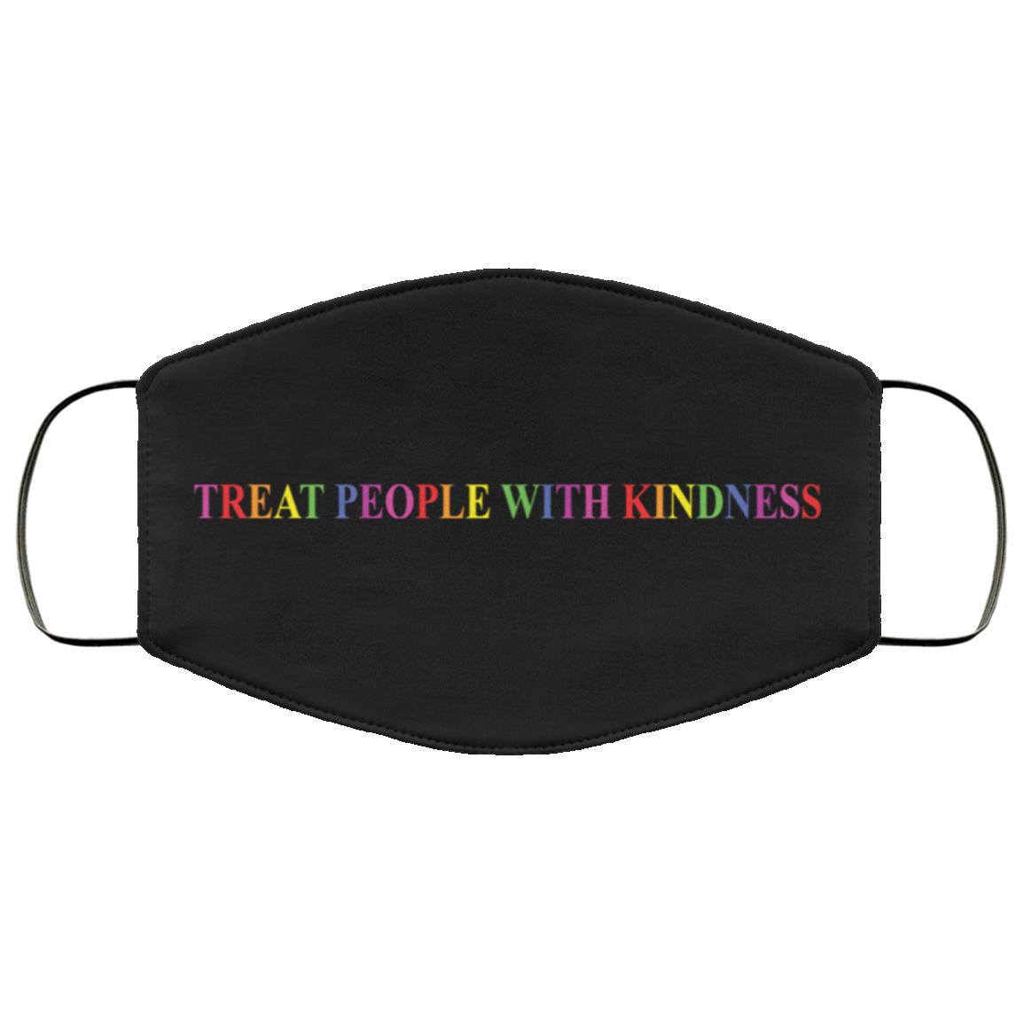 Harry Styles Treat people with kindness mask black