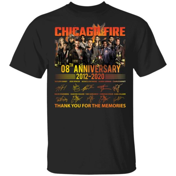 Chicago Fire 08th anniversary shirt