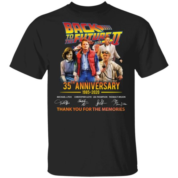 Back to the future 35th Anniversary shirt