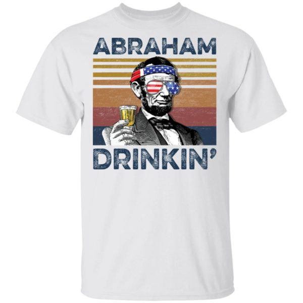 Abraham Lincoln Drinkin shirt
