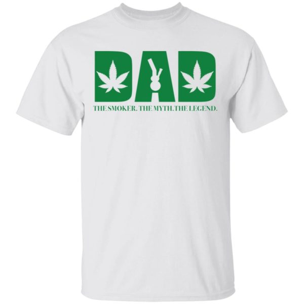 Dad the smoker the myth the legend shirt