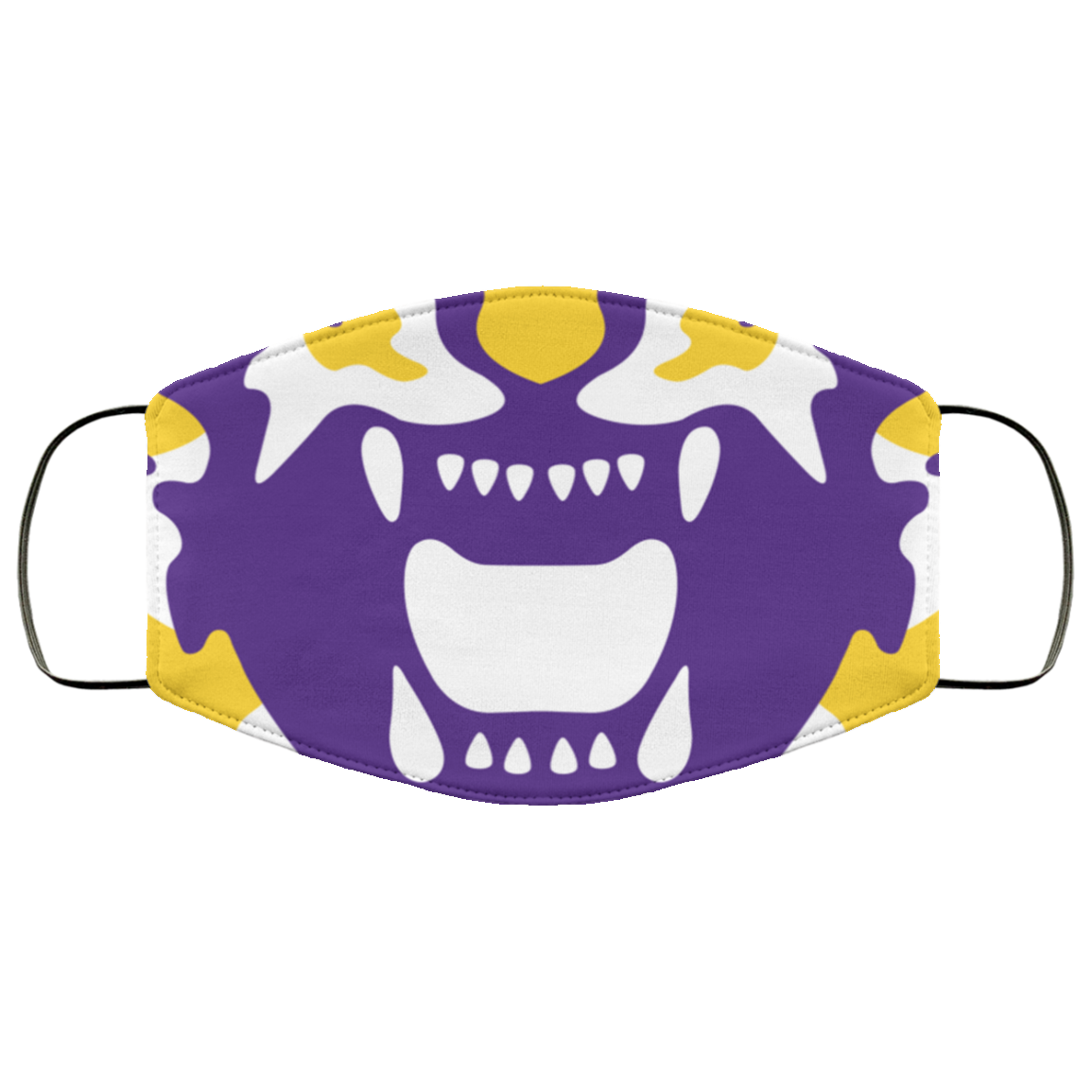 LSU Tigers face mask