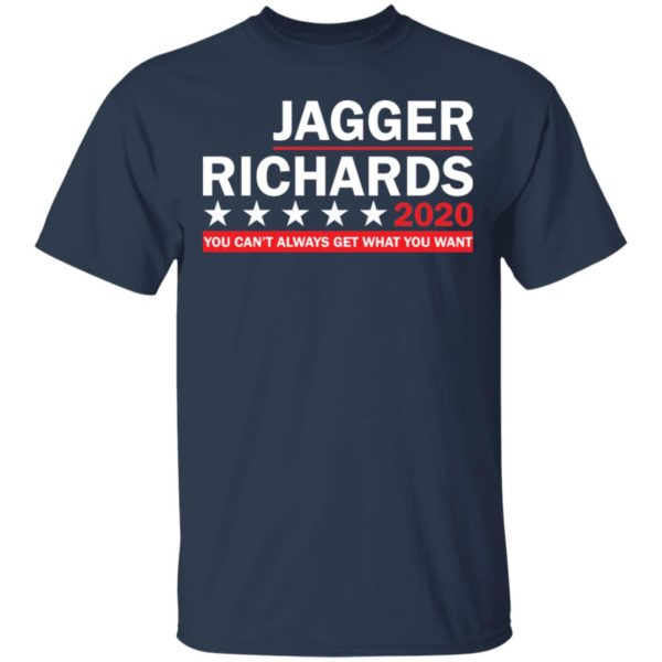 Jagger Richards 2020 shirt