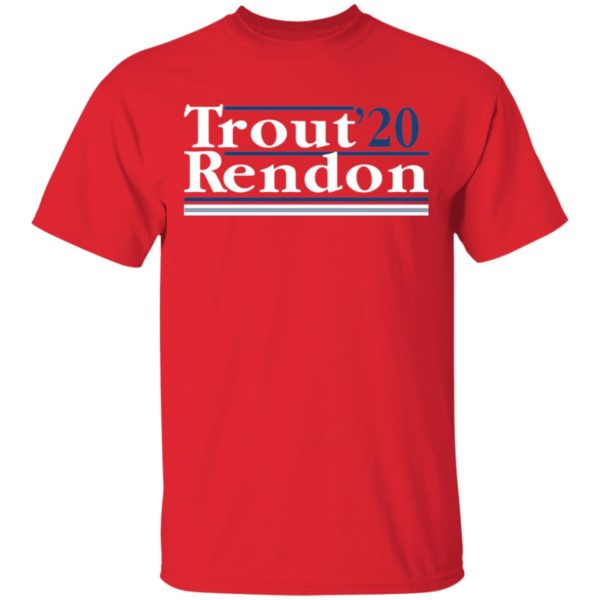 Trout Rendon 2020 shirt