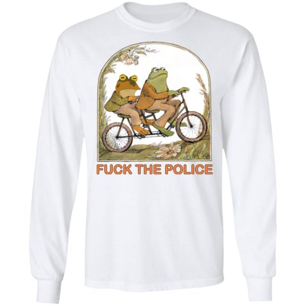Frog and toad fuck the police shirt 8