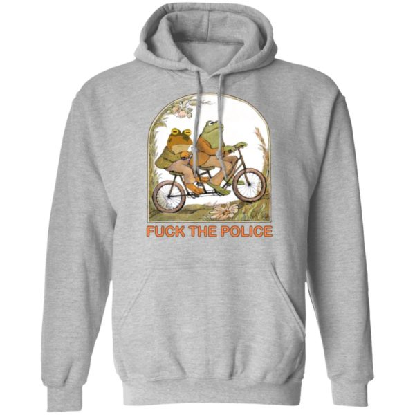 Frog and toad fuck the police shirt 9