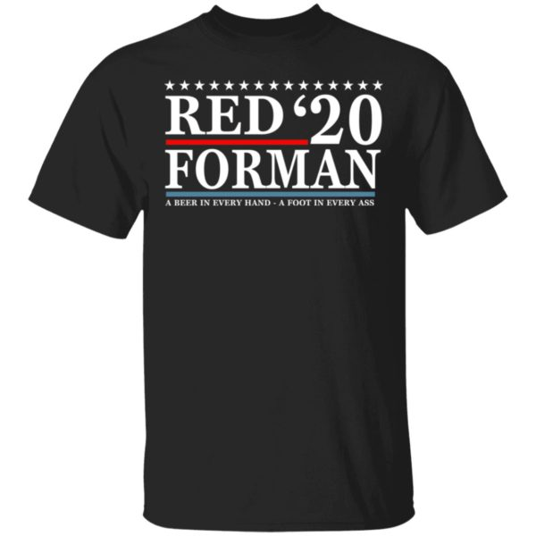 Red Forman 2020 shirt
