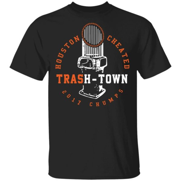 Trevor Bauer Houston Cheated Trash Town shirt