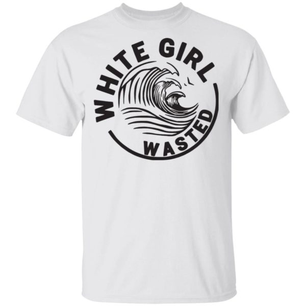 White girl wasted White Claw shirt