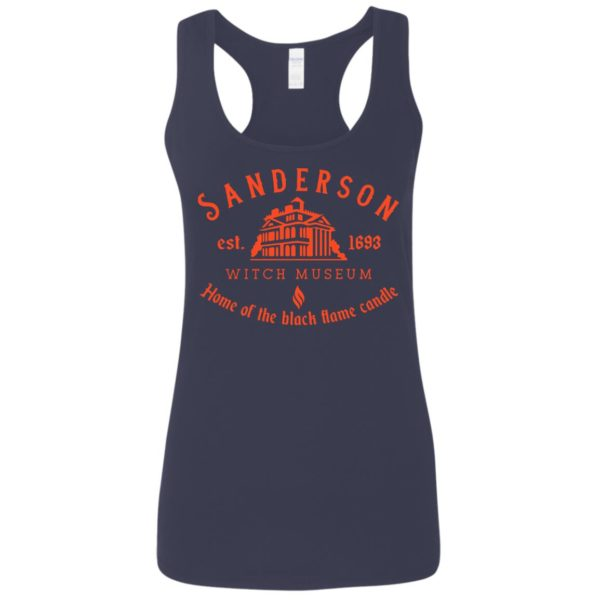 Sanderson witch museum home of the black flame candle shirt 6