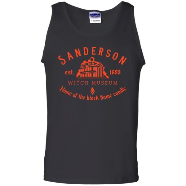 Sanderson witch museum home of the black flame candle shirt 11