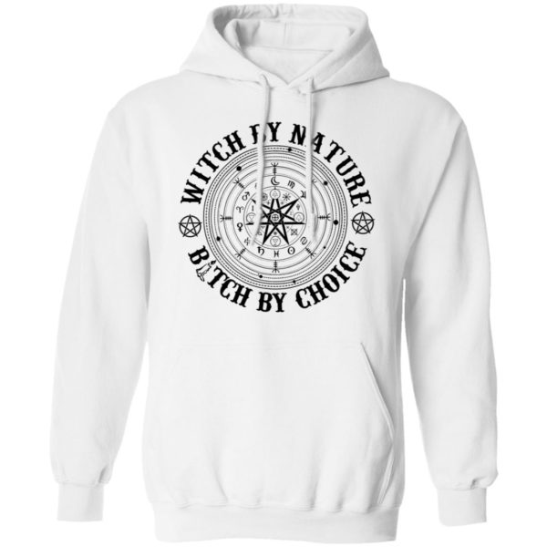 Witch by nature bitch by choice shirt 8