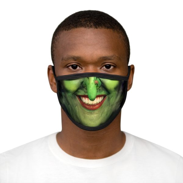 Witch Face Halloween Costume Face Mask 2