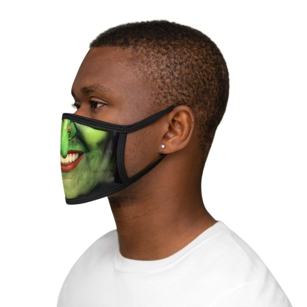 Witch Face Halloween Costume Face Mask 3