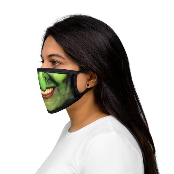 Witch Face Halloween Costume Face Mask 4