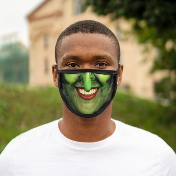 Witch Face Halloween Costume Face Mask 5