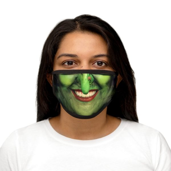 Witch Face Halloween Costume Face Mask